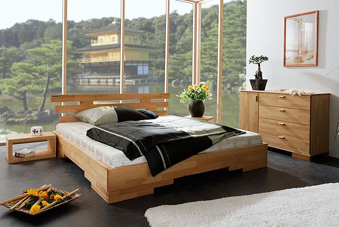 futonbett 180 x 190 bett betten holzbett massivholzbett aus th ringen neu ebay. Black Bedroom Furniture Sets. Home Design Ideas